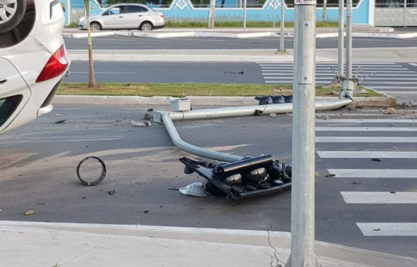 [Prefeitura emite nota sobre acidente envolvendo carro da Secretaria de Saúde]