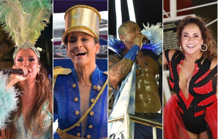 [Último dia de Carnaval vai ter Ivete, Claudia, Léo Santana e Daniela]