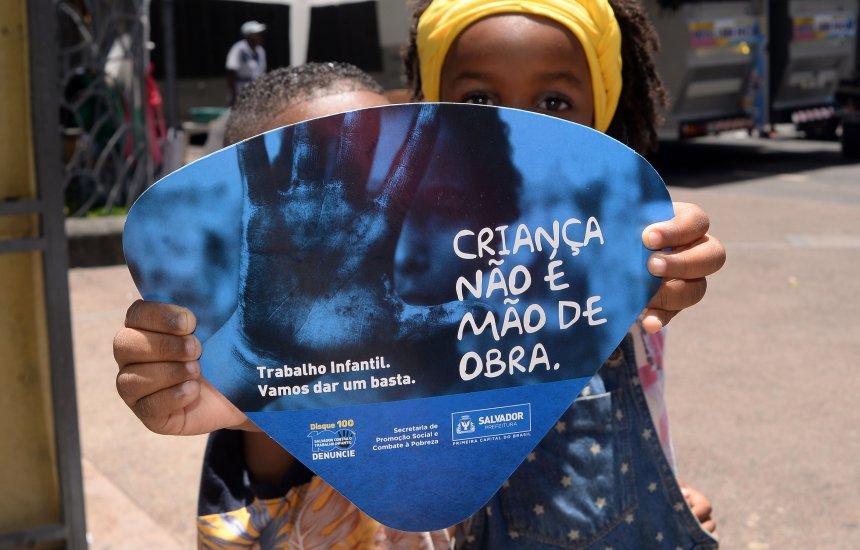 [Exploração do trabalho infantil tem queda de 22% no Carnaval de Salvador]