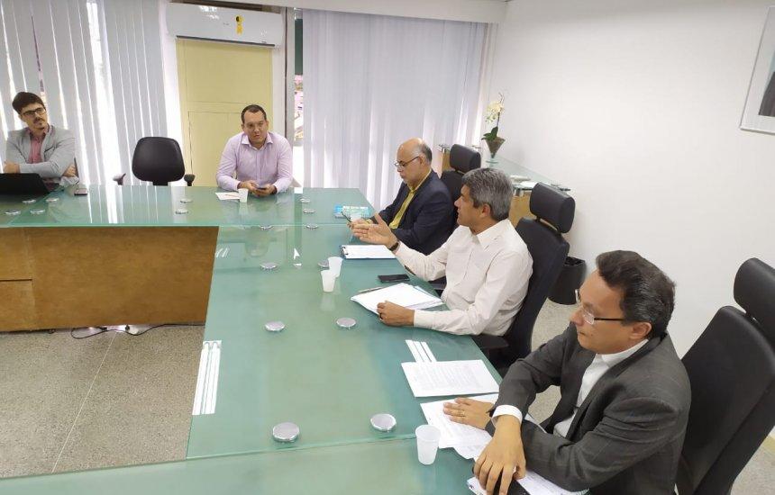 [Secretaria da Educação do estado discute medidas durante suspensão das aulas]