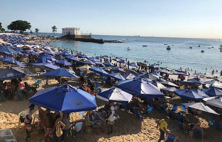 [Coronavírus: prefeitura estuda interditar praias mais frequentadas de Salvador]