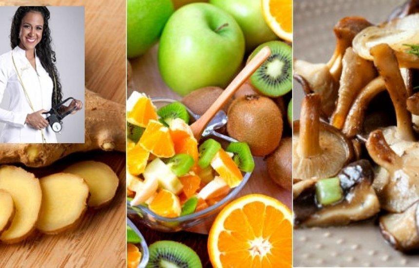 [Nutricionista dá dicas de como fortalecer a imunidade para se proteger de doenças]