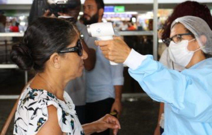 [Estado recorre contra decisão que suspendeu barreiras sanitárias no aeroporto de Salvador]