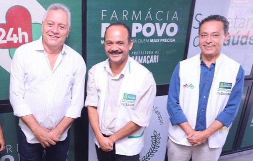 [Jorge Curvelo parabeniza Prefeitura pela implantação da farmácia pública 24h]