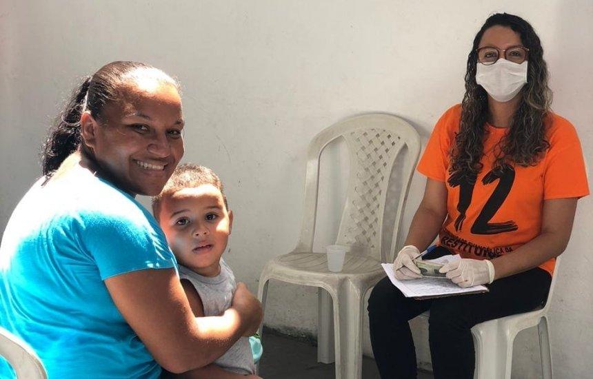 [Instituição religiosa de Camaçari beneficia mais de 120 famílias]