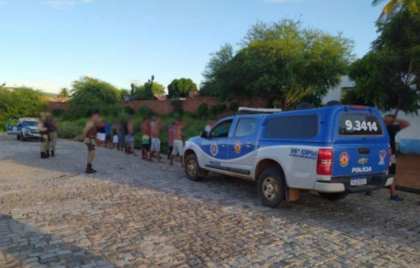 [Polícia Militar encerra 'Corona Fest' no Sudoeste do Estado]