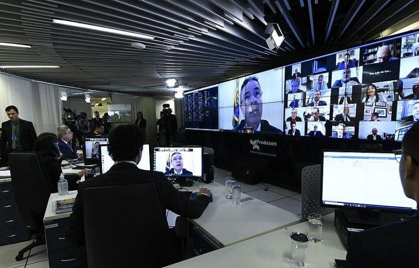 [Senado aprova projeto que prevê R$ 600 mensais a trabalhadores informais durante pandemia]