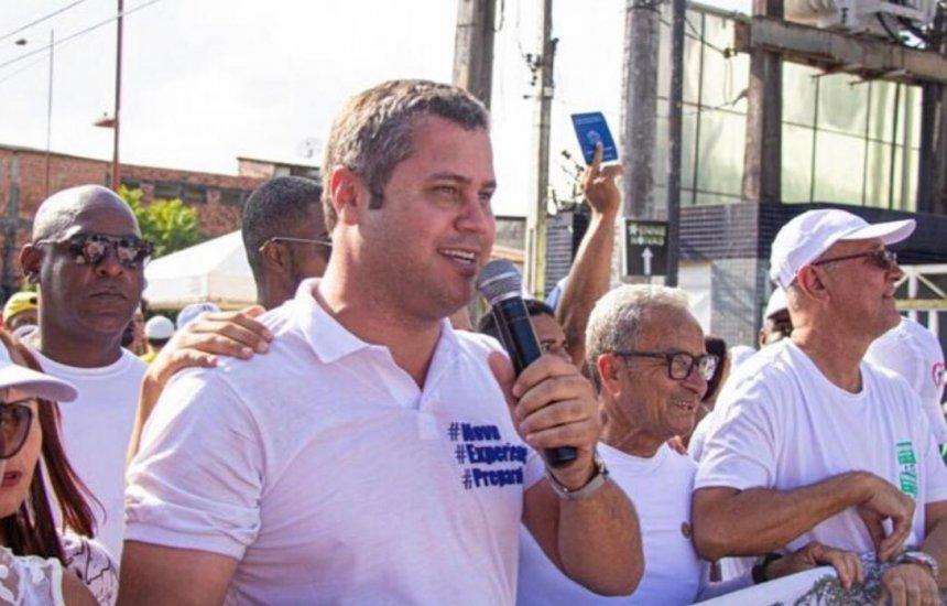 [Pré-candidato a prefeito de Camaçari cancela coletiva que iria oficializar seu partido]