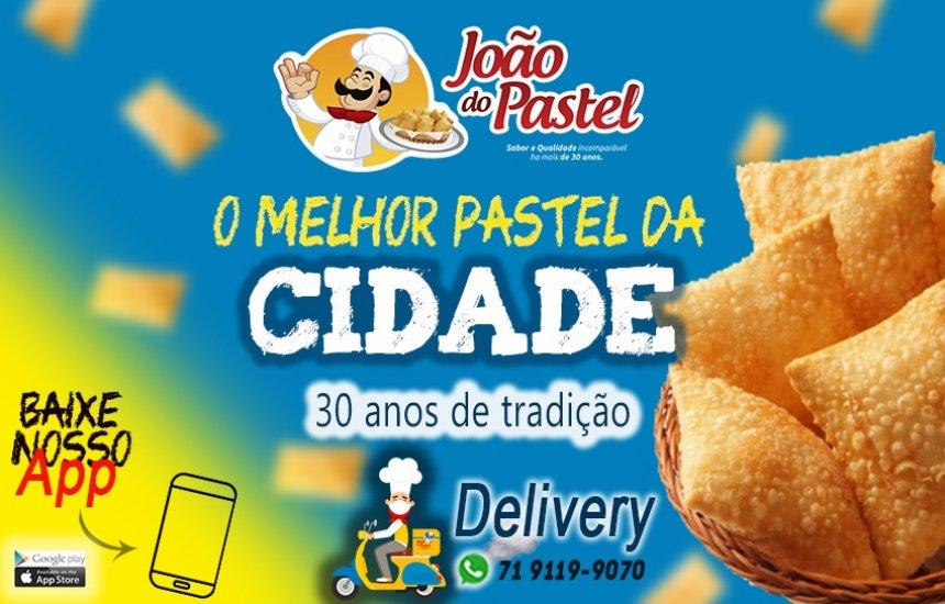João do Pastel Delivery! Faça seu pedido que entregamos 71 9 9119-9070.