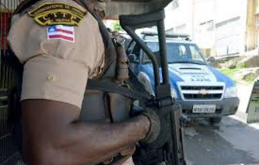 [PM é baleado em operação contra roubo de veículos em Salvador]
