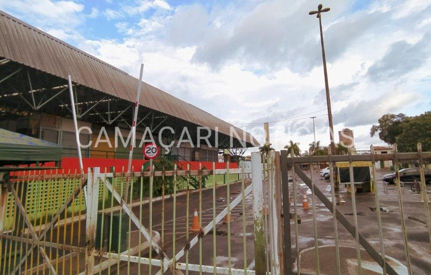 Centro Comercial de Camaçari e estacionamentos estarão fechados por 8 dias