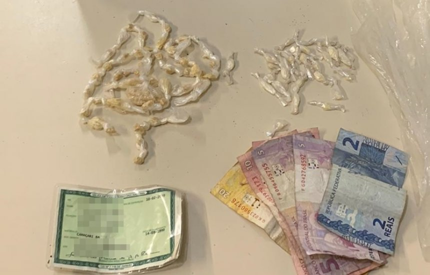 Homem é preso com 98 pedras de crack no Verde Horizonte