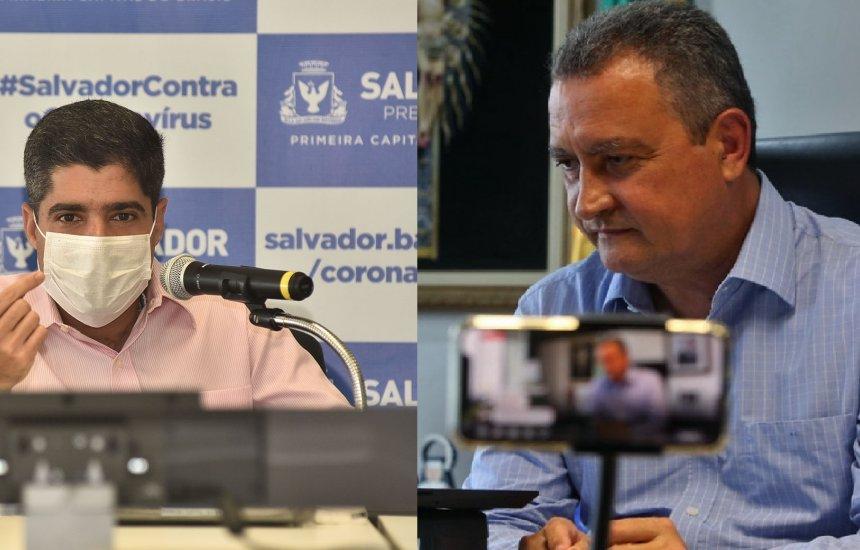 """[""""Minha relação com o governador tem dado exemplo ao Brasil"""", diz Neto sobre parceria com Rui]"""