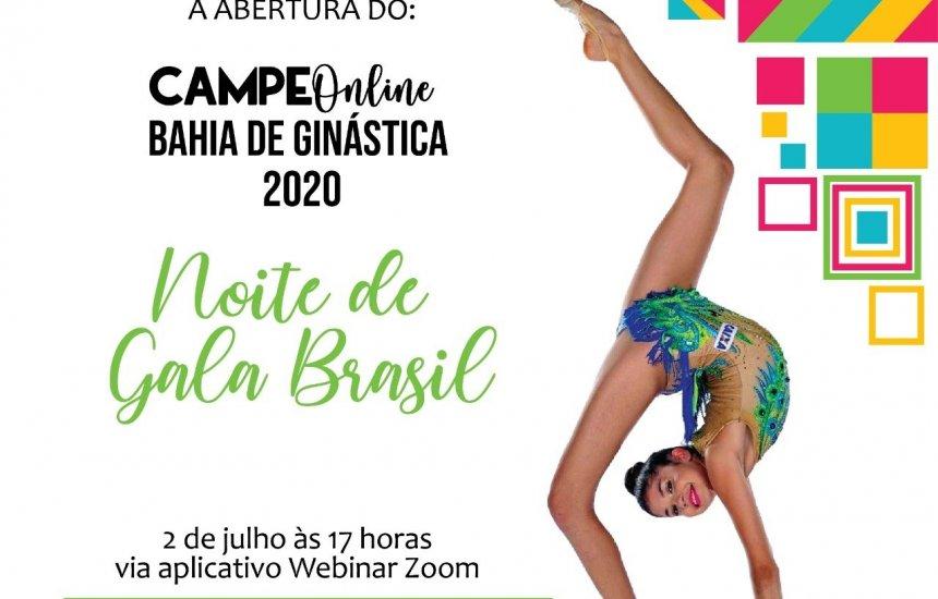 [Primeiro campeonato online de ginástica da Bahia prorroga inscrições]