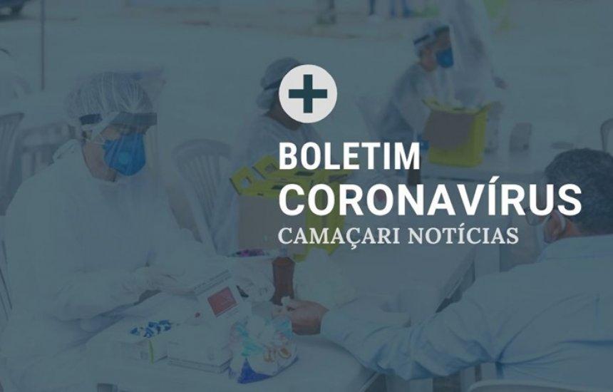 [Boletim coronavírus: Camaçari registra mais dois óbitos e 1182 casos confirmados]