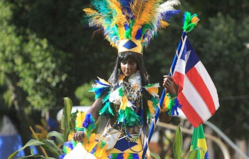[Secretaria da Educação da Bahia promove caminhada virtual para celebrar o 2 de Julho]