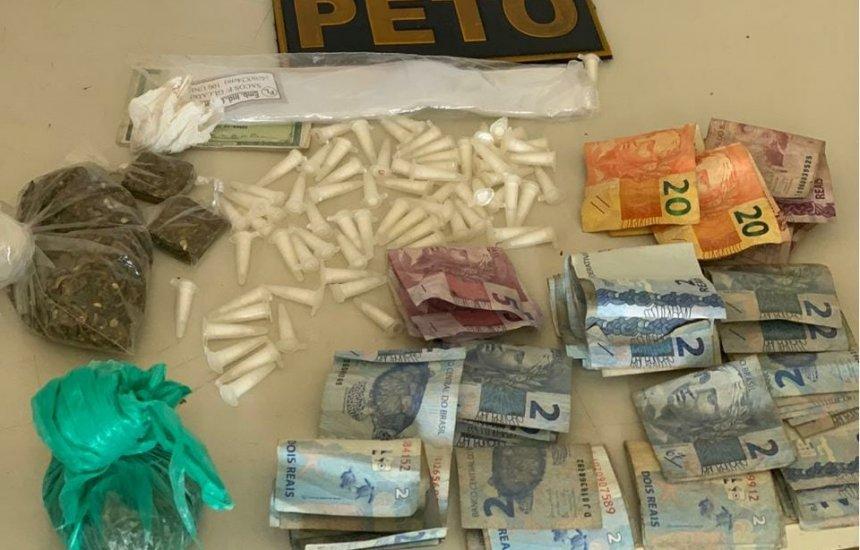 [Homem é preso com 72 pinos de cocaína em Simões Filho]