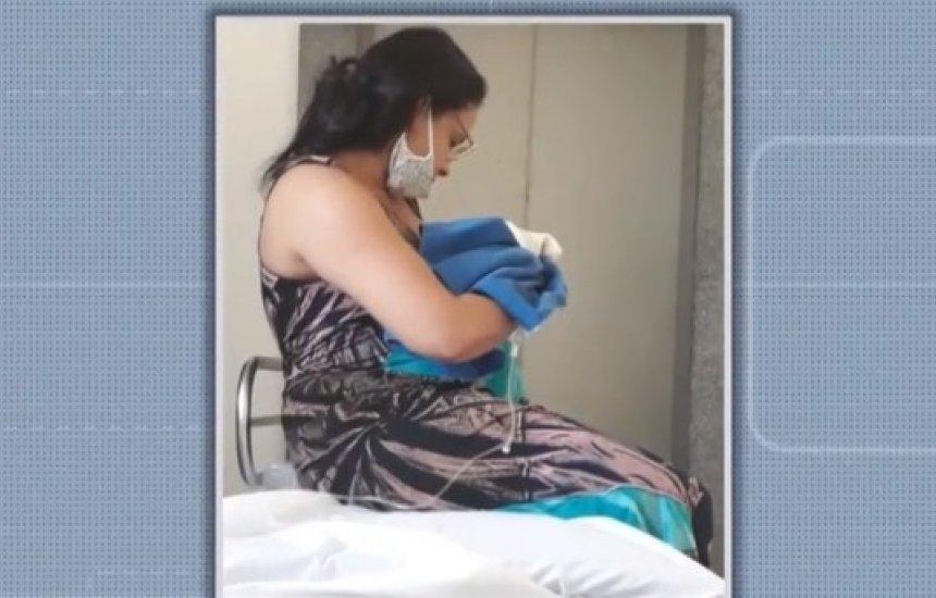 [Recém-nascido morre após ser atendido em hospital na Bahia e família denuncia negligência]