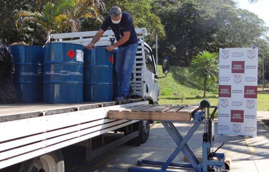 [BASF desenvolve álcool spray com agentes hidratantes para doação às faculdades com hospitais universitários]