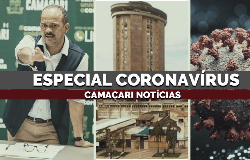 [Retrospectiva traz avanço da Covid-19 e ações de enfrentamento em Camaçari]