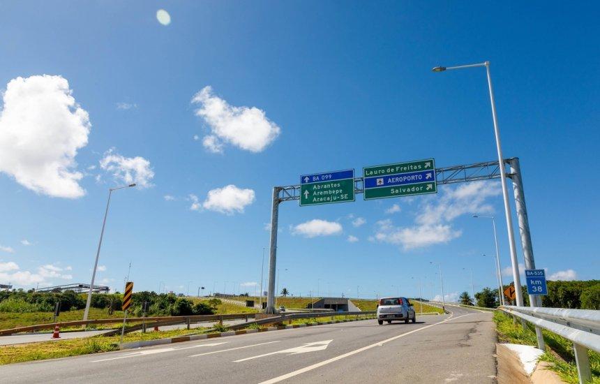 [Concessionária Bahia Norte realiza intervenções em rodovias que integram o Sistema BA-093]