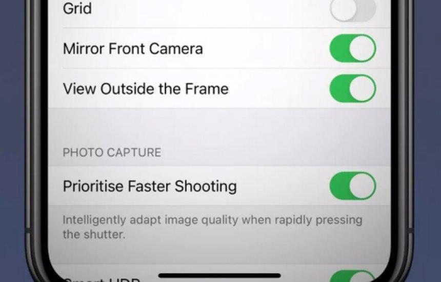 iPhone deve ganhar função de espelhar selfies com chegada do iOS 14