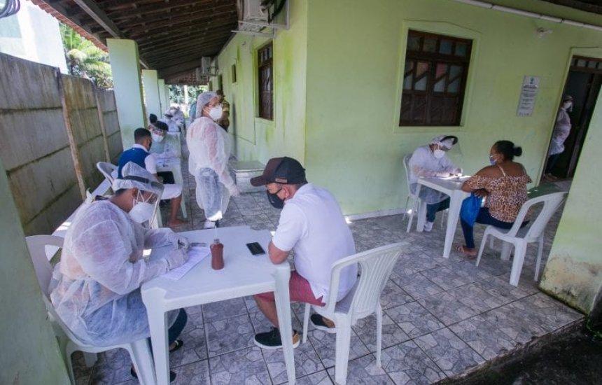 [Moradores do Jardim Limoeiro recebem ação integrada de enfrentamento à Covid-19]