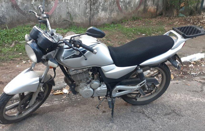 [Polícia descobre venda de moto roubada no site OLX]