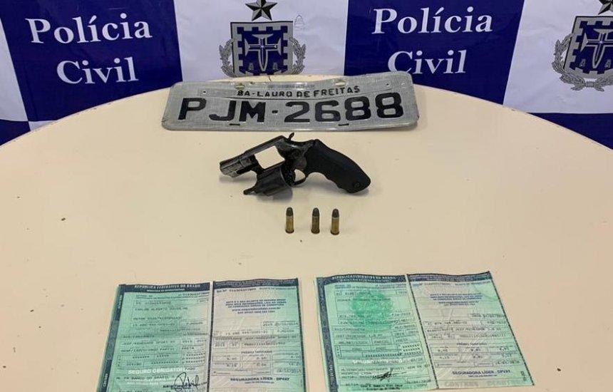 [Polícia prende integrante de quadrilha de roubo de carros em Camaçari]