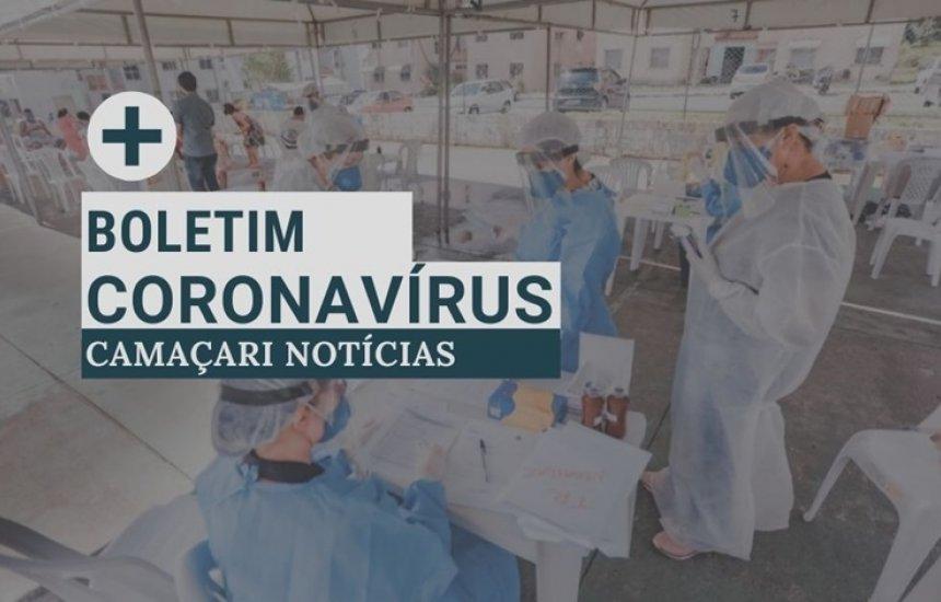 Boletim epidemiológico registra 2261 casos de coronavírus em Camaçari