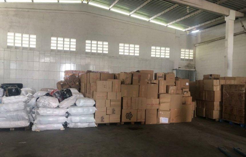 [PRF apreende carga de produtos falsificados avaliados em mais de 800 mil]