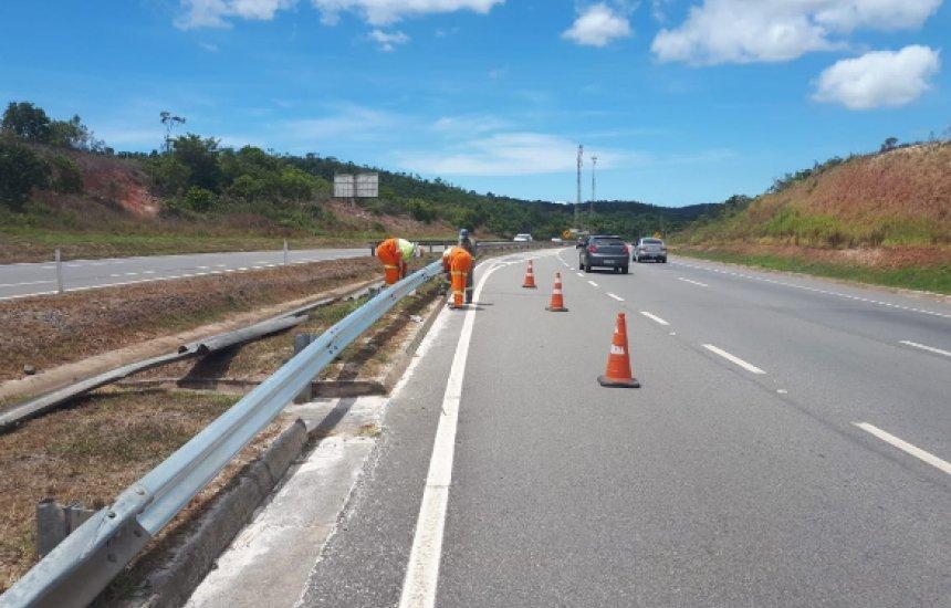 [Trecho da Via Parafuso vai passar por intervenções para manutenção da rodovia]