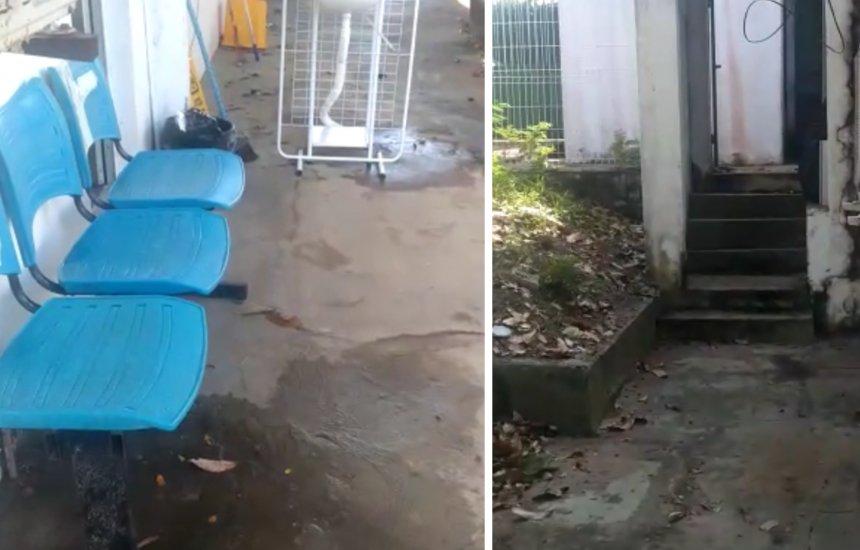 [Moradora denuncia condições precárias do local onde é feito exame de covid-19 em Arembepe]