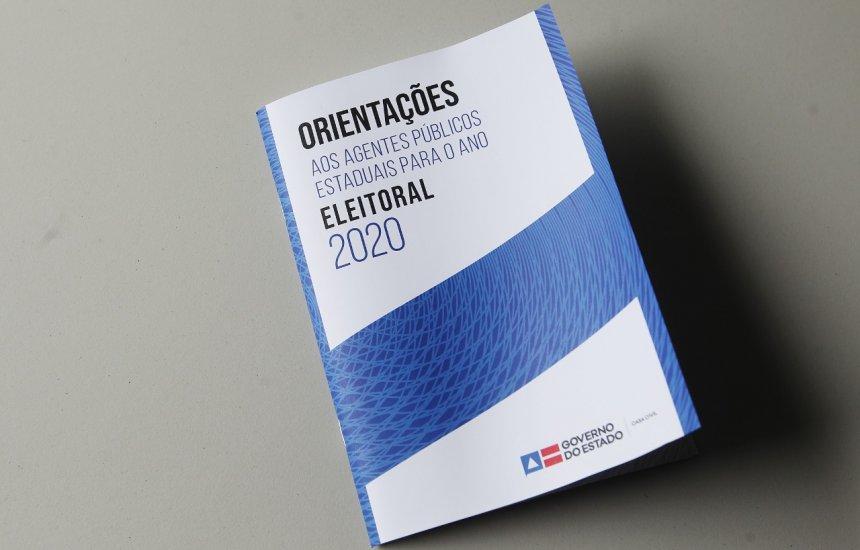 [Governo da Bahia lança cartilha com orientações voltadas para servidores públicos nas eleições]