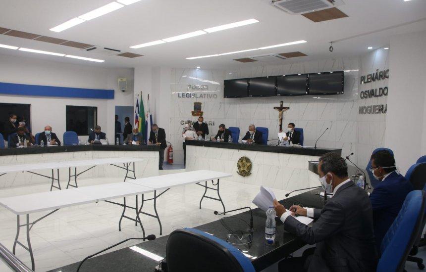 [Duas matérias são aprovadas durante sessão na Câmara de Vereadores de Camaçari]