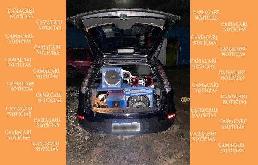 Quatro veículos são apreendidos por promover aglomeração em vários bairros de Camaçari