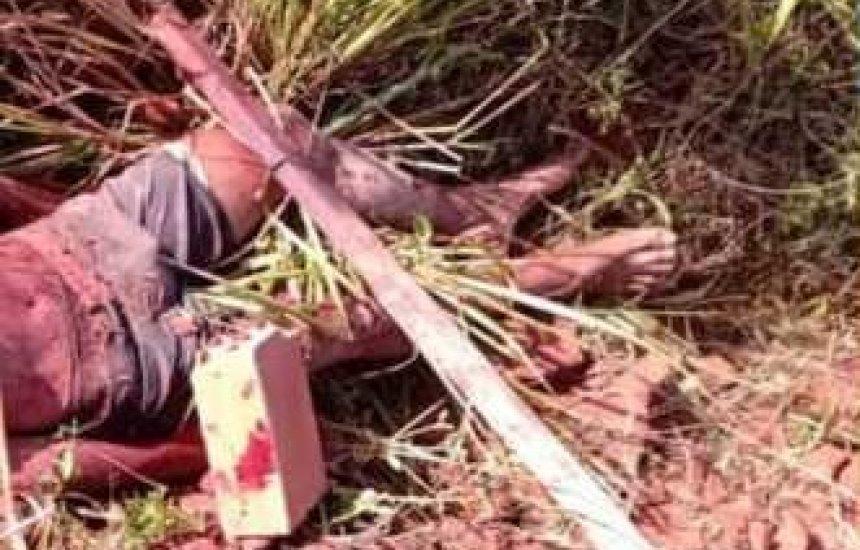 [Corpo é encontrado próximo às casinhas no Buri Satuba]