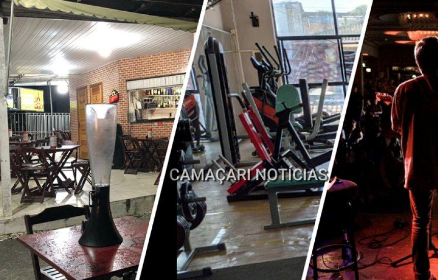 Camaçari: segunda fase de reabertura do comércio libera funcionamento de bares, restaurantes e academias