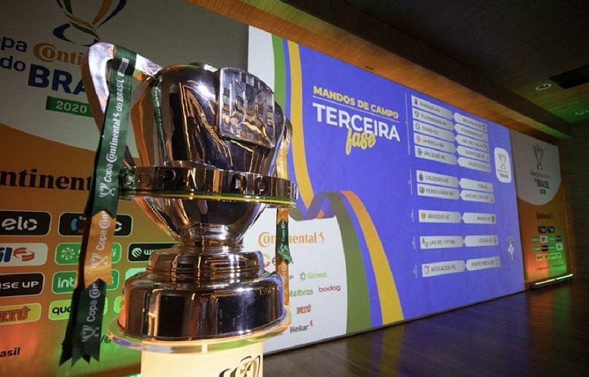 [CBF divulga tabela da Copa do Brasil; Vitória enfrenta o Ceará]