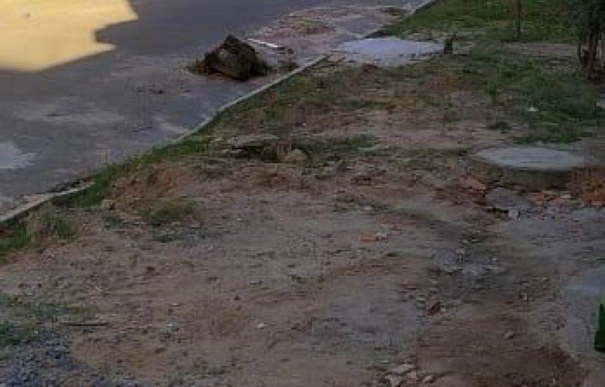 [Moradora pede conclusão de obras em rua de Monte Gordo]