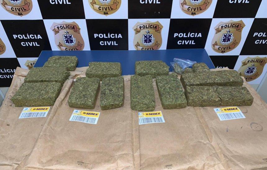 [Polícia desarticula esquema de drogas mandadas pelos Correios na Bahia]