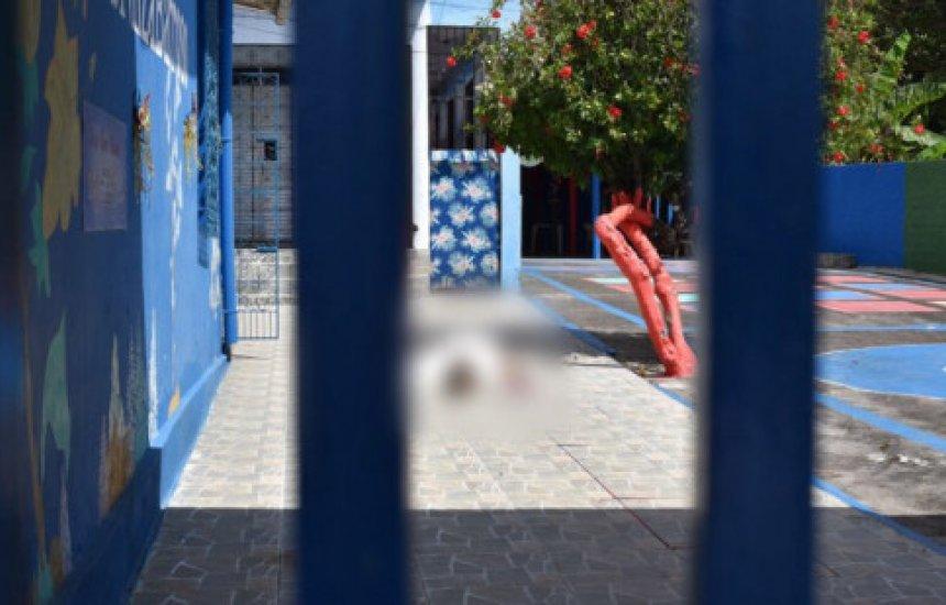 [Homem é executado dentro de escola infantil em Mata de São João]