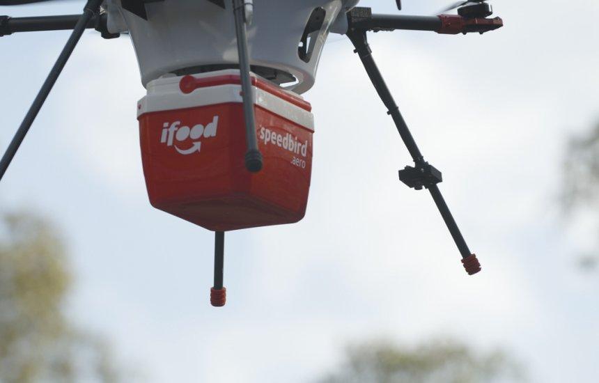iFood começará testes para utilizar drones em sistema de entregas