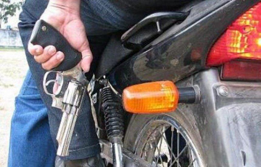 Motocicleta Fan 125 é roubada no distrito de Camaçari