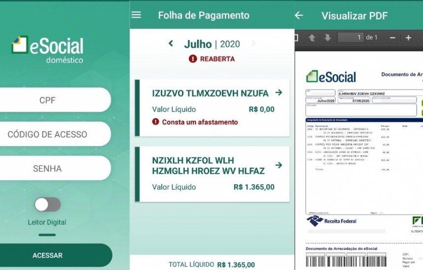 Governo lança aplicativo eSocial Doméstico