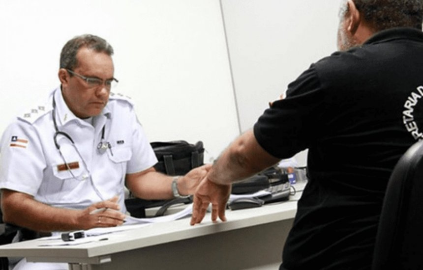[Resultado da prova de títulos para oficiais de saúde da PMBA é publicada]