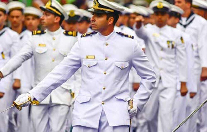 [Apesar da pandemia, Marinha realiza prova presencial para 617 candidatos]