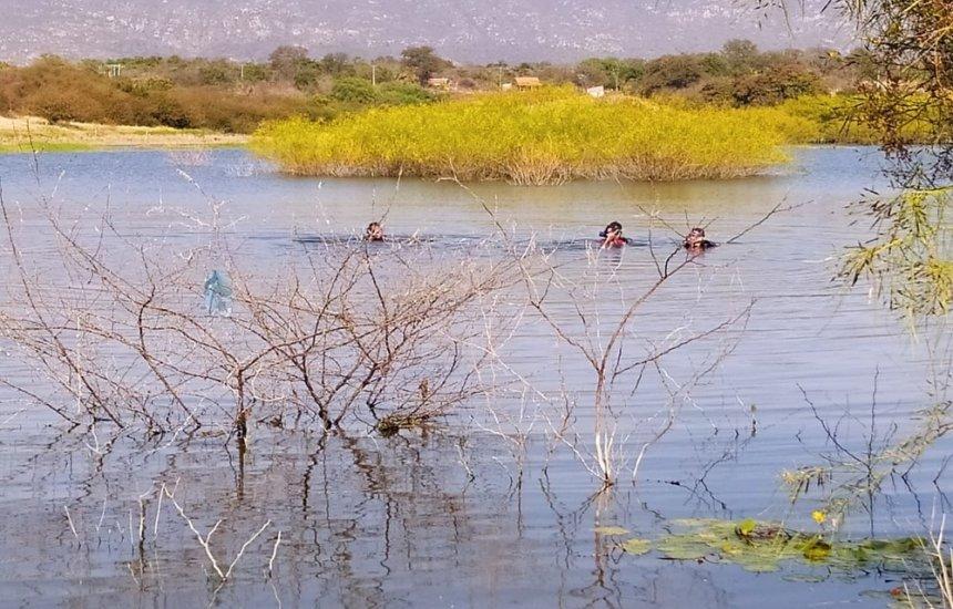 [Adolescente morre afogado em lagoa da Bahia; corpo foi resgatado um dia depois]