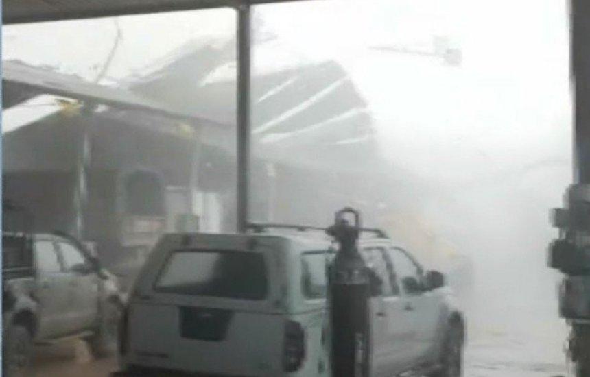 [Bahia: Temporal causa estragos em instalações do Exército; dois militares ficaram feridos]