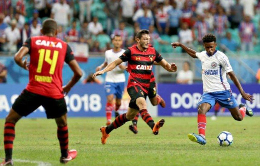 CBF altera data de Bahia x Sport pelo Brasileirão